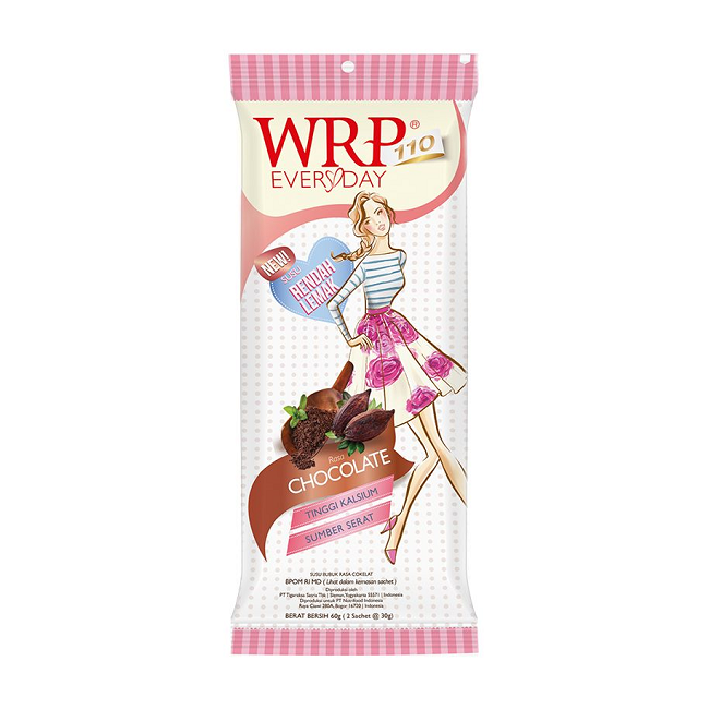 WRP EVERY DAY SUSU CHOCOLATE 60G